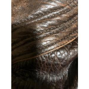 Fendi Tiny Nano Mini Spy Hobo Brown Leather Woven 239763