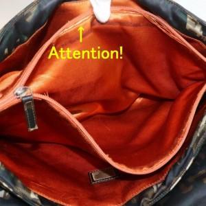 Fendi Messenger Monogram Ff Camouflage Cross Body 871716 Green Nylon Shoulder Bag