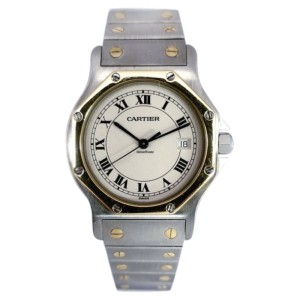 Cartier Santos Ronde 187902 31mm Mens Watch