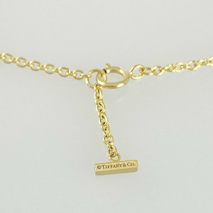 TIFFANY&Co. 18k Yellow gold T Smile Bracelet