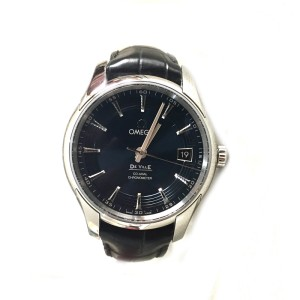 Omega De Ville Orbis Hour Vision Co- Axial Stainless Steel Men's Watch