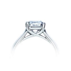 Tiffany & Co. Platinum Lucida Diamond Ring
