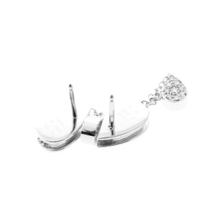 Piaget G38U8300  White Gold Diamond Dangle Earrings