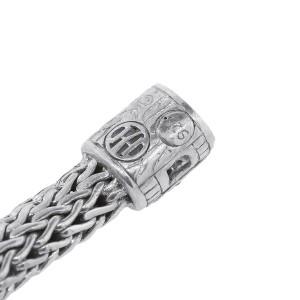 John Hardy 925 Sterling Silver Spinel 16.2ctw Diamond Bracelet