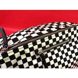 Givenchy 2017 Pandora 2way 220856 Black X White Nylon Weekend/Travel Bag