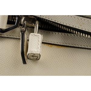 Givenchy White x Black Lucrezia Weekender Duffle Bag 380giv225