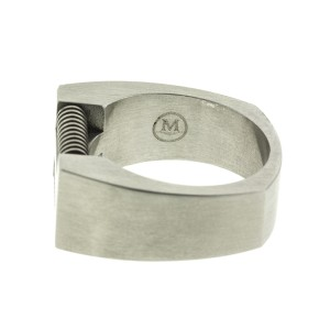 Mens Stainless Steel Mens Band Ring