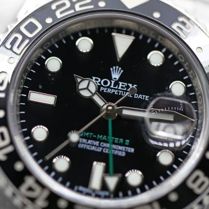 Rolex GMT-Master II 116710LN 40mm Mens Watch