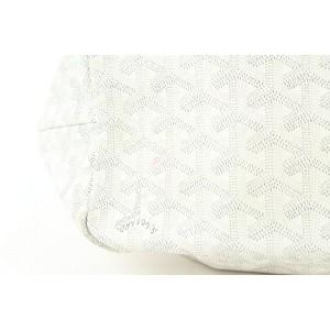 Goyard White Chevron St Louis PM Tote bag 928gy415