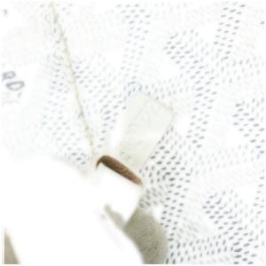 Goyard White Chevron St Louis Tote Bag with Pouch 863067