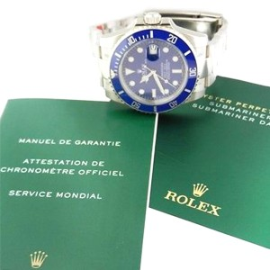 Rolex Submariner 116619 40mm 18K White Gold Watch