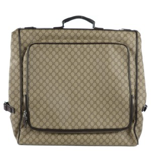 Gucci Brown Supreme GG Garment Bag 122ggs23