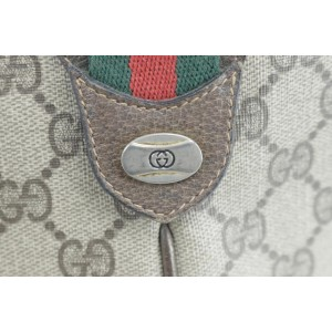 Gucci 1gk0114 Sherry Web Monogram Brown Gg Supreme Canvas Cross Body Bag