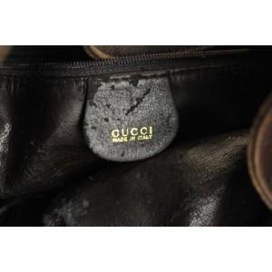 Gucci Hobo 2way Bamboo 26gga1025 Brown Leather Shoulder Bag