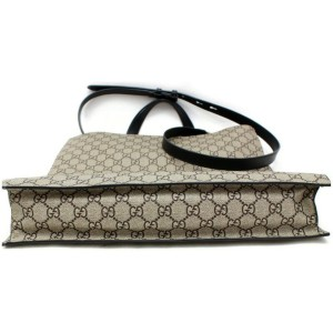 Gucci Animalier Blind Love Shopper 2way with Strap 872974 Brown Gg Supreme Canvas Tote