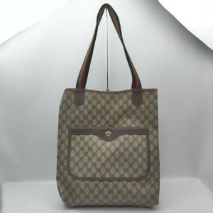 Gucci Large Supreme Web Shopping Tote Bag 862520