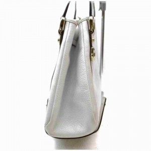 Gucci Bag Abbey Hobo 872949 White Leather Tote