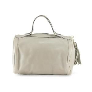 Gucci Bag Duffle Boston Soho Cellarius Mini 20gk1211 Grey Satchel
