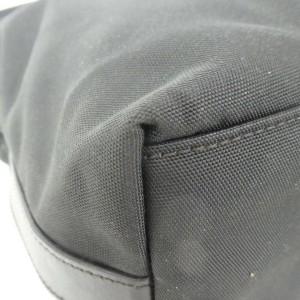 Gucci Bag Hobo 872520 Black Nylon Satchel