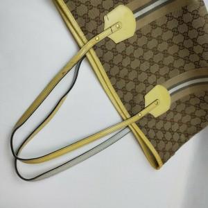 Gucci Monogram GG Web Jolie Tote Bag  862266