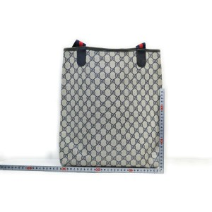 Gucci Navy Supreme Web Large Shopping tote bag 863091