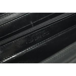 Gucci Bamboo 6gk1212 Black Canvas Satchel