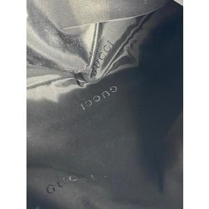 Gucci Bardot Jackie O 17g64 Black Nylon Hobo Bag