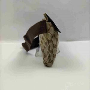 Gucci Belt Monogram Fanny Pack Waist Pouch 860010 Brown Gg Canvas Cross Body Bag
