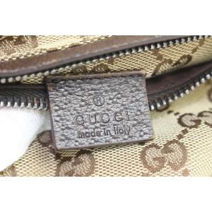 Gucci Brown Monogram Belt bag Waist Pouch Fanny Pack 332ggs223