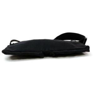 Gucci Belt Monogram Waist Pouch Fanny Pack 872577 Black Gg Canvas Cross Body Bag