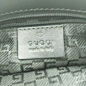 Gucci Black Waist Pouch Belt Bag Fanny Pack  862321