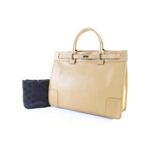 Gucci Birkin 224465 Beige Leather Satchel
