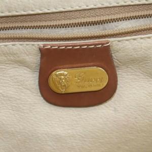 Gucci Brown Leather Boston Bag 862765