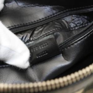 Gucci Boston Monogram Web Sherry 867978 Black Canvas Satchel