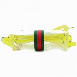 Gucci Yellow Ophidia Camera Bag Mini Clear Translucent Crossbody 855520