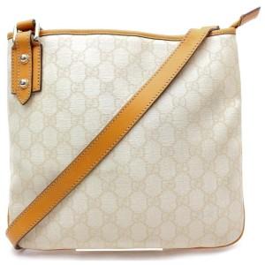 Gucci Crossbody 871847 Ivory Gg Supreme Canvas Shoulder Bag