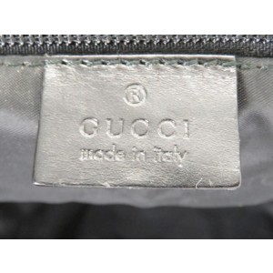 Gucci Duffle Boston 2way 226369 Black Nylon X Leather Weekend/Travel Bag