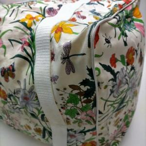 Gucci Large Floral Boston Flora Duffle Bag 863206