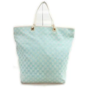 Gucci Blue Monogram GG Eclipse Bucket Tote bag  862653