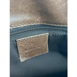 Gucci Eclipse Bucket Monogram 2ga63 Brown Canvas Tote