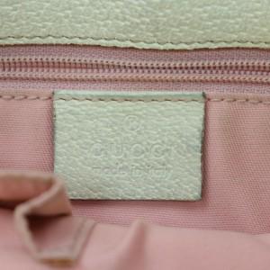 Gucci Eclipse Bucket Monogram 872527 Pink Gg Canvas Tote