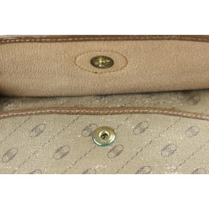 Gucci Gg Diagonal Stripe 2gj1022 Beige Coated Canvas Cross Body Bag