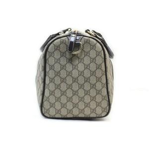 Gucci Brown Supreme GG Joy Boston Bag 862639
