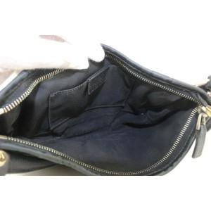 Gucci Black Monogram GG Abbey Mini Hobo Bag 141gas24