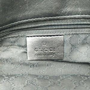 Gucci Black Jackie-O Bardot Hobo Bag 862314