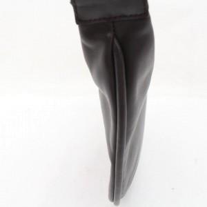 Gucci Dark Brown Web Strap Leather Hobo Bag 857676