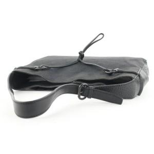 Gucci Black Monogram GG Hobo Bag 77ga127