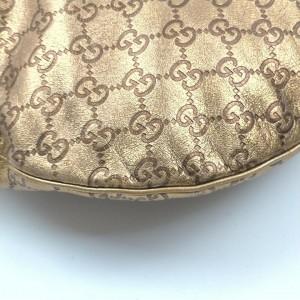 Gucci Gold Guccissima Leather Hobo 862579