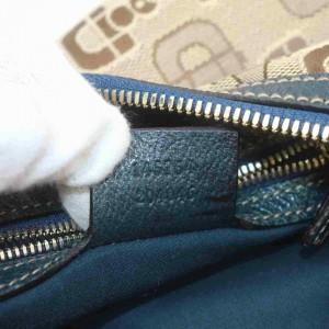 Gucci Horsebit Hobo Monogram 860035 Light Brown Canvas Shoulder Bag