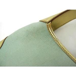 Gucci Jackie Metallic Sparkle Jackie-o 204772 Gold Leather Shoulder Bag